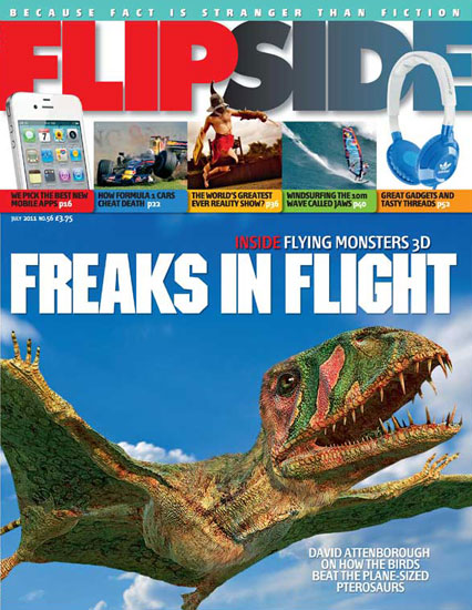 Attenborough Flying Monsters cover