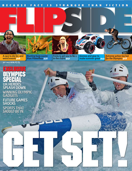 Olympic kayakers cover